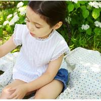【mardi amber】jude blouse - white