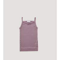 【Jamiekay】Cotton Modal Singlet - Nostalgia rose