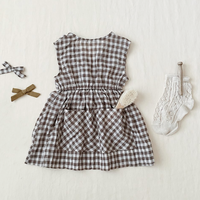 last 1【SOOR PLOOM】Orla Dress-Gingham