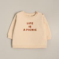 【organic zoo】Life is a picnic Sweatshirt