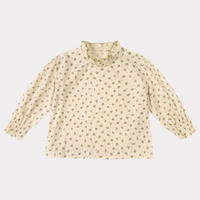 【happyology】Millie Blouse, Blue Florette