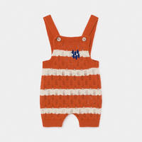 【BOBO CHOSES】Striped Knitted Playsuit