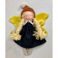 【Lilalune】BUTTERFLY DOLL / pixy brown  28 cm