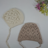 【penooras】ADALIA bonnet - Ivory, Latte