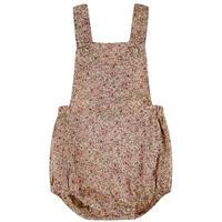 【little cotton clothes】Whitby Romper - vintage rose floral