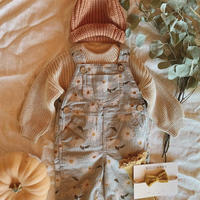 【 wild wawa 】Lilian Overalls - Autumn Daisy