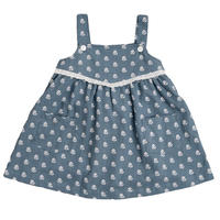 【 little cotton clothes】Tabitha pinafore – upsy daisy floral