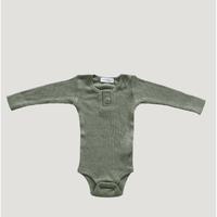 【Jamiekay】  Cotton Modal  Bodysuit  -Laurel