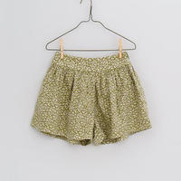 【 little cotton clothes 】Joanie shorts - blossom floral in samphire