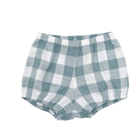 【little cotton clothes】poppy bloomers - blue textured gingham