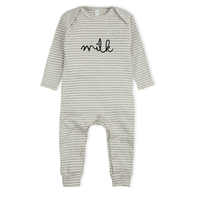 【organic zoo】Stripy MILK Playsuit