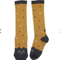 【Emile et ida】CARAMEL CAT GIRL SOCKS