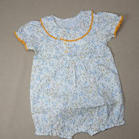 【happyology】Claudia Baby Romper, Blue Floral