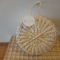 【coconeh】Round gift basket with hanger
