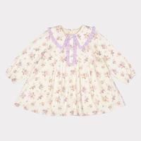 【happyology】Friars Dress, Violet Floral