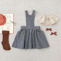 【SOOR PLOOM】ご予約商品Harriet Pinafore, Picnic Cloth