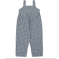 【little cotton clothes】MARGO dungarees - blue gingham