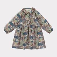 【happyology】Tessa Dress, Khaki Forest