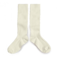 【collegien】rib high socks