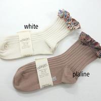 【collegien women】liberty ruffle  ankle socks