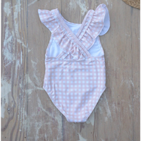 "【willow swim】""Gracie"" in Peachy Gingham"