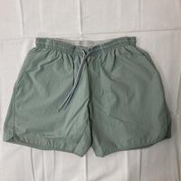 【  MOUN TEN. 】board shorts  - sage green  SIZE 0