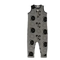 【turtledove london】Tank Dungaree Beach Pals
