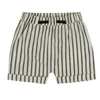 【turtledove london】stripe woven shorts