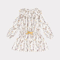 【happyology】Laurel Dress, Cream Floret