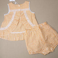 【happyology】Audrey Baby Dress & Bloomers Set,