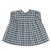 【little cotton clothes】Juno top blouse - blue gingham