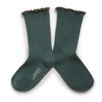 【Collegien】Lettuce Trim Socks