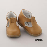 【PEEP ZOOM】1535 Baby T-Strap-Camel