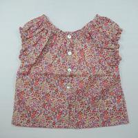 【Emile et ida】 liberty girl blouse Emma  18m