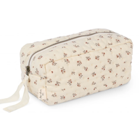 【Konges sloejd】QUILTED TOILETRY BAG - PETIT AMOUR ROSE