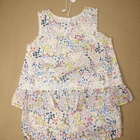 【happyology】Fleur Dress & Bloomers Set, Spring