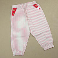 【happyology】Astilbe Trousers, Red Stripe