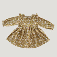 【Jamie kay】Dress - golden Floral