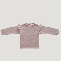 last 1【Jamie kay】Flutter Knit - rose smoke