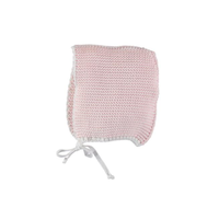 last 1【liilu】 knit bonnet 3色(pale pink, vanilla, mint)