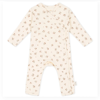 【Konges sloejd】NEW BORN ONESIE - PETIT AMOUR ROSE
