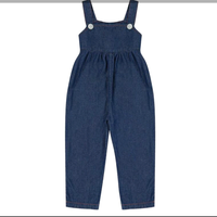 【little cotton clothes】Margo dungarees denim