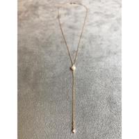 アコヤパールとダイヤモンドのネックレス
