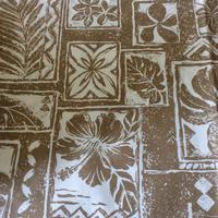 ハワイアンボタニカル パネルプリント