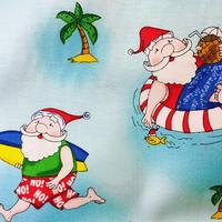 ハワイアンクリスマスサンタ by カイムキドライグッズ