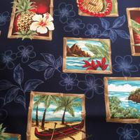 ハワイアンパネルプリント