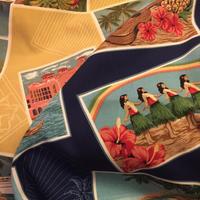 ハワイアンポストカードプリント