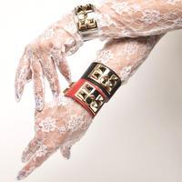 Fake Leather/エドシアンブレスレット