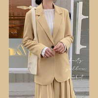 dusty yellow jacket