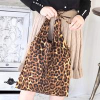 Leopard tote-bag
